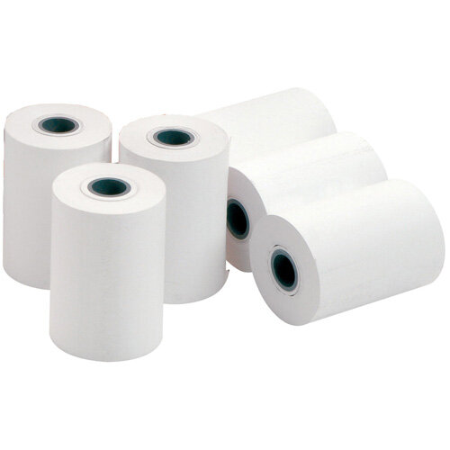 Thermal Printer Paper on a Roll 57 x 50 x 12.7mm Pack of 20 Rolls