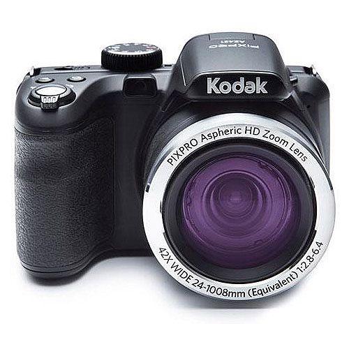 Bundle: Kodak AZ422 PIXPRO 16MP Digital Camera 42x Optical Zoom Black with Case and 16 GB Storage Card