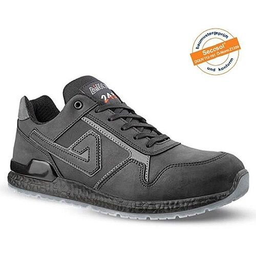 Aimont Calvin Safety Trainers Protective Toecap Size 6 Black