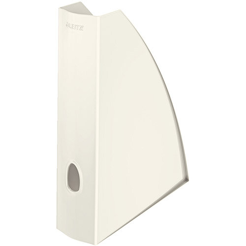 Leitz WOW Magazine File A4 Pearl White Pack of 6 Ref 52771001
