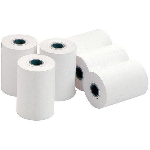Thermal Printer Roll 80x74x12.7mm White Pack of 20 Rolls