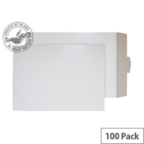 Purely Packaging White Envelopes All Board Tuck Flap 450x324mm (Pack 100)