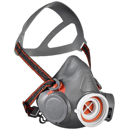 Scott Safety Aviva 40 PF10 P3 Ready-Pak Tub with Single Filter Half Mask Large Grey Ref 8000644