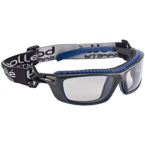 Bolle Baxter BAXPSI Safety Glasses Clear with Platinum Coating Ref BOBAXPSI