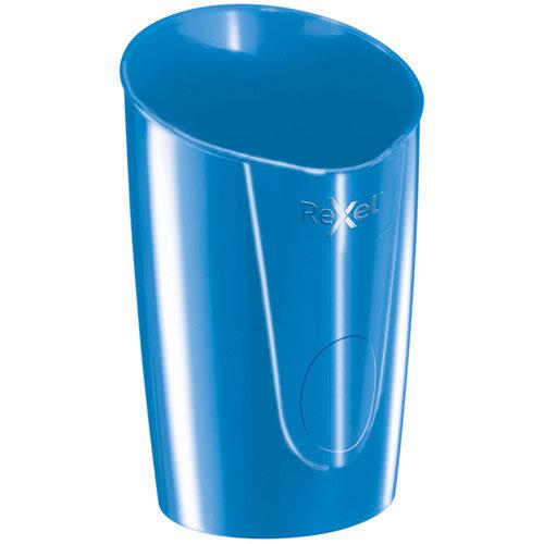 Rexel Choices Pen Pot 90x90x124mm Blue Pack of 6 Ref 2115615