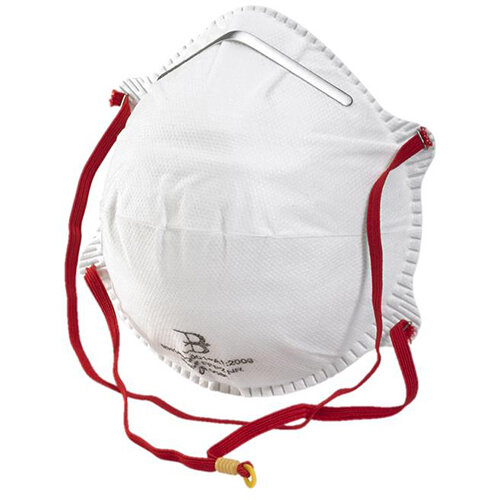 B-Brand P2 Mask Polypropylene Latex-free White Pack of 20 Ref BBP2