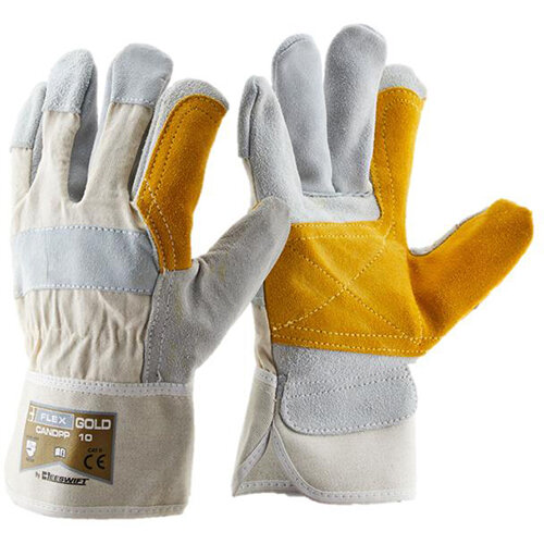 B-Flex Canadian Double Palm High Quality Rigger Gloves Pack of 60 Ref CANDPP