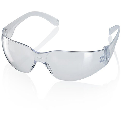 Click Traders Ancona Clear Safety Spectacle Clear with Cord Ref BS098