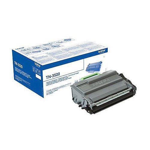 Brother TN-3520 Black Ultra High Capacity Laser Toner Cartridge TN3520