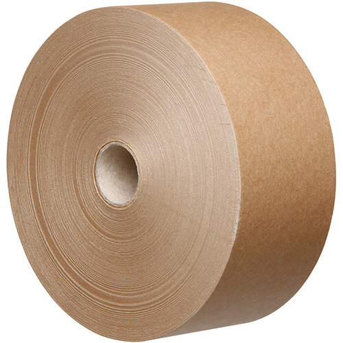 Water Activated Kraft Tape Recycable 60gsm 70mmx200mtr Brown Ref K7020B-60GSI (Pack 18)