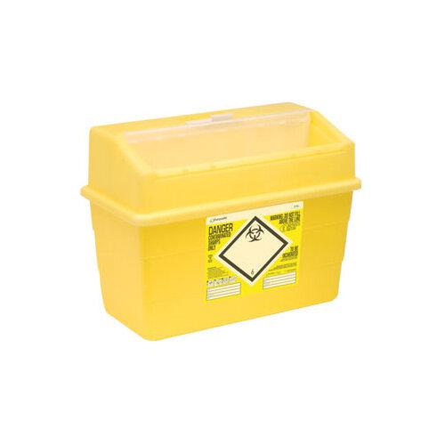 Click Medical Sharpsafe 24 Litre Sharps Bin Yellow Ref CM0648