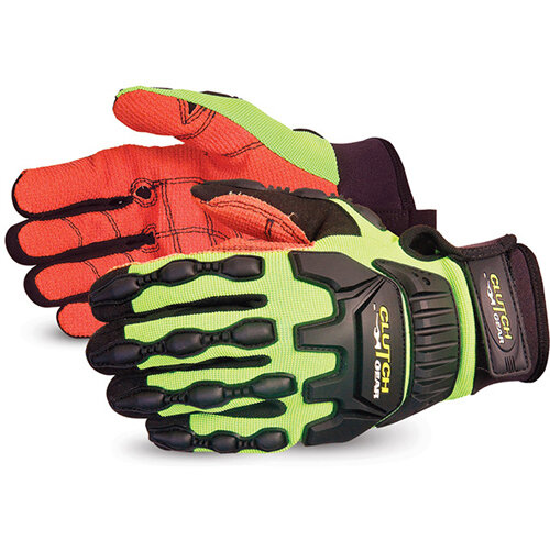 Superior Glove Clutch Gear Impact Protection Armortex L Yellow Ref SUMXVSBAL