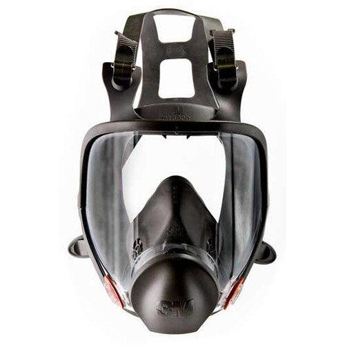 3M 6000 Series Full Face Mask Respirator Large Dark Grey