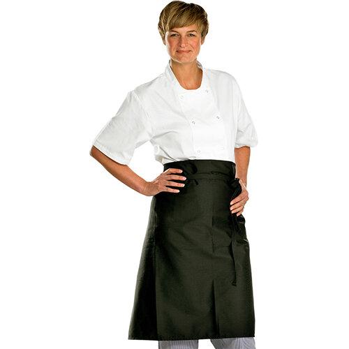 Click Workwear Chefs Waist Apron Black 36x29in Pack 10 Ref CCCWABL36X29