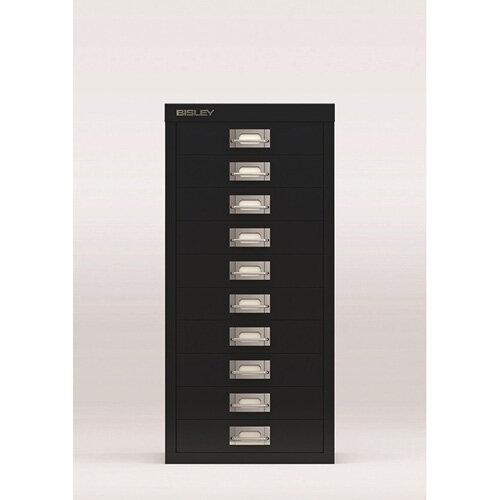 Bisley SoHo Multi-Drawers 10-Drawer 51mm Drawer Height Black