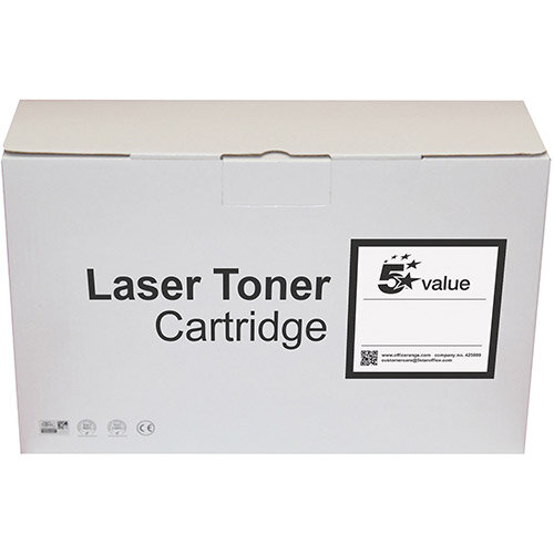 5 Star Value Remanufactured High Capacity Toner Cartridge Yellow (Brother TN423Y Alternative)