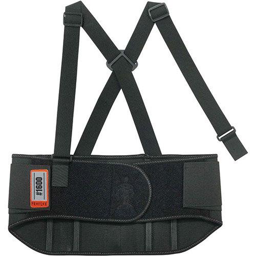 Ergodyne ProFlex 1600 Standard Elastic Medium Back Support Belt Black