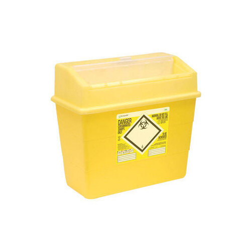 Click Medical Sharpsafe 30 Litre Sharps Bin Yellow Ref CM0649