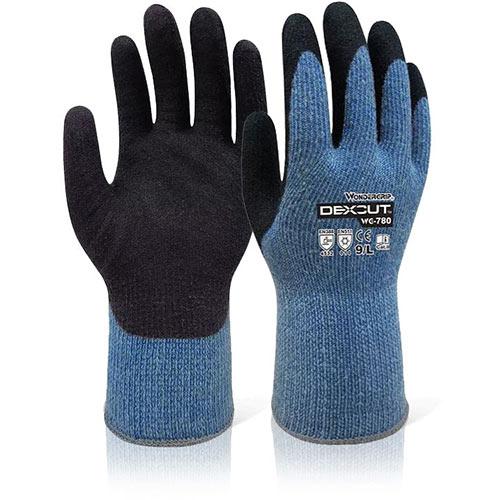 Wonder Grip WG-780 Dexcut Cold Resistant Glove Large Black Ref WG780L