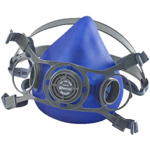 BBrand Twin Filter Mask Large Blue Ref BB3000L