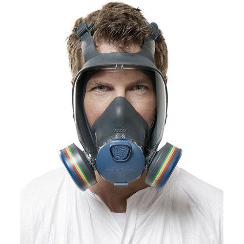 Moldex 9000 Full Face Mask Lightweight Peripheral Vision Medium Grey Ref M9002