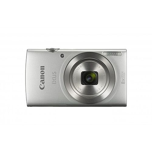 Canon IXUS 185 20MP Digital Camera 8x Optical Zoom 2.7 inch LCD Silver