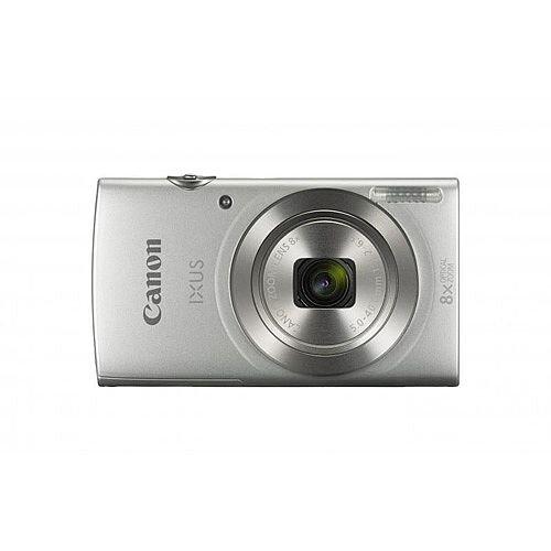 Canon IXUS 185 20MP Digital Camera 8x Optical Zoom 2.7 inch LCD Silver