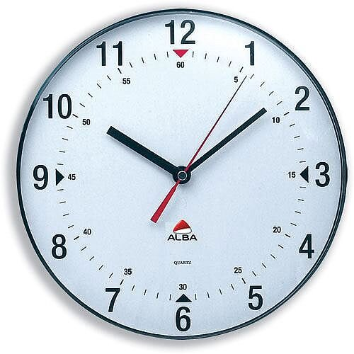 Round Wall Clock Diameter 250mm