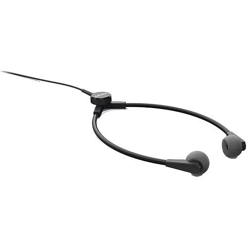 Philips Y-style Headphones for Transcription Lightweight Durable 3m Cable Charcoal