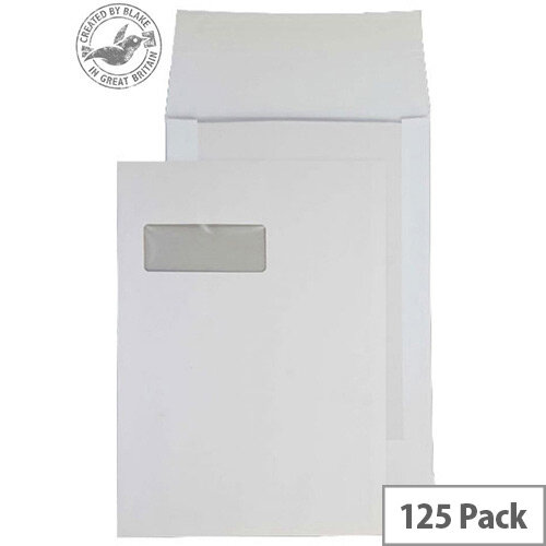 Purely Packaging Envelope Board Backed P& 120gsm C4 White Ref 92901W [Pack 125]