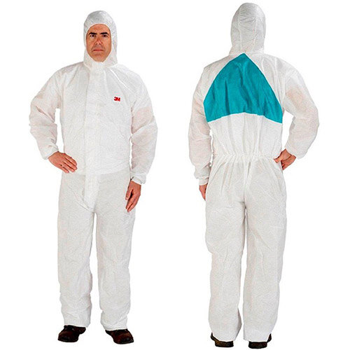 3M 4520 Large Protective Coverall White