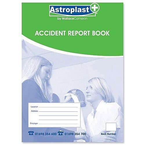 Wallace Cameron Accident Report Book Small A5