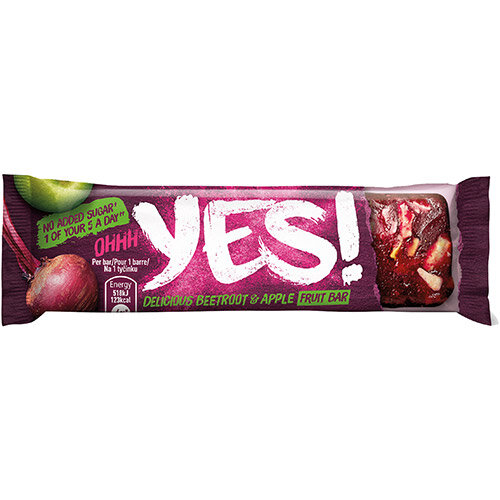 YES Beetroot &Apple Fruit Bar 32g Ref 12403828 Pack of 24