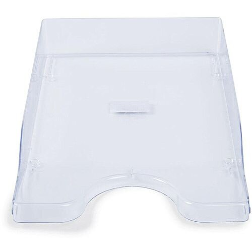 A4/Foolscap Polystyrene Continental Letter Tray Crystal Clear