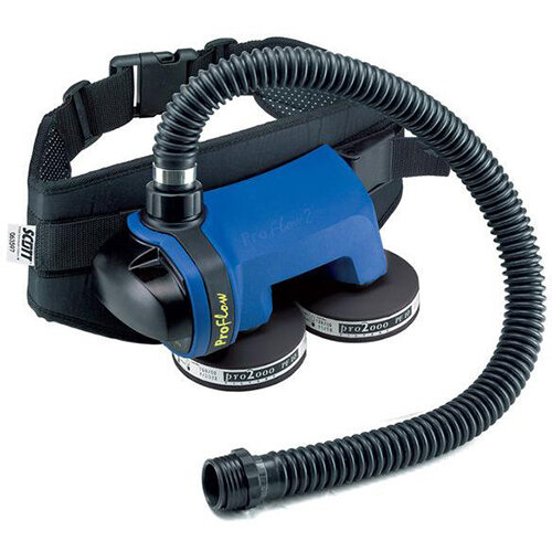 Scott Safety Proflow 2 SC 160 L/Min Powered Air Respirator with Battery Pack Black Ref 2029808