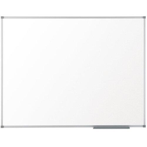 Nobo Prestige Enamel Whiteboard Magnetic Fixings Included W2400xH1200mm White Ref 1905225