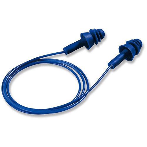 Uvex Whisper Plus Detect Ear Plug Easy Clean Ref 2111-239 Pack of 50