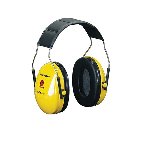3M PELTOR Optime I H510A Headband Ear Defender Headset SNR27 Black &Yellow Ref H510A