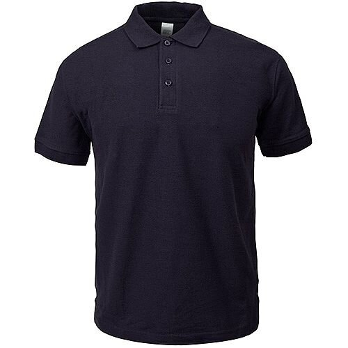 Supertouch Polo Shirt Classic Polycotton Large Black Ref 56CA3