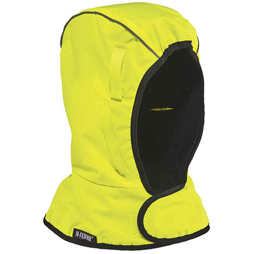 Ergodyne N-Ferno 6842 2-Layer Econo Winter Liner Shoulder Length Yellow