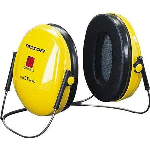 3M PELTOR Optime I H510B Neckband Ear Defender Headset SNR26 Black &Yellow Ref H510B