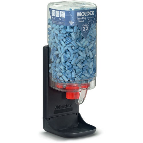 Moldex 7859 Spark Plugs Detect MoldexStation 500 Pair Dispenser Station Ref M7859