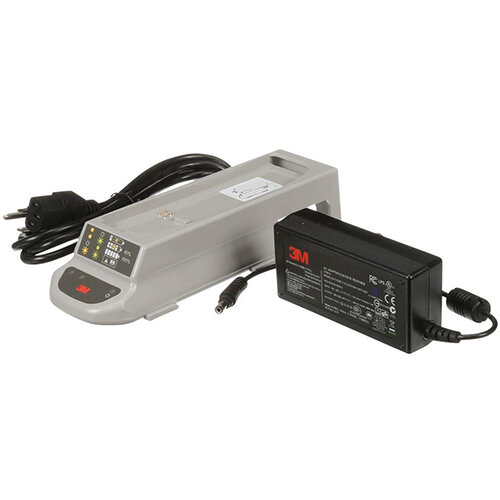 3M TR-341 Single Station Battery Charger Kit Grey - UK Ref 3MTR341UK