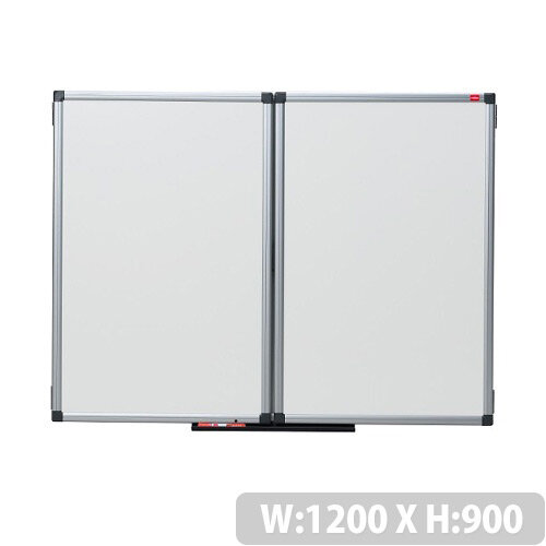 Nobo Confidential Whiteboard Lockable 1200 x 900mm