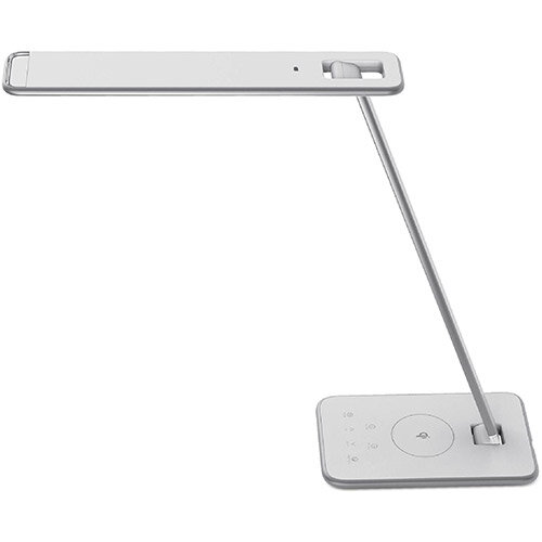Unilux Jazz LED Desk Lamp 11W Silver Ref 400112776