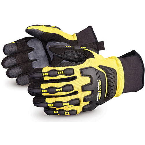 Superior Glove Clutch Gear Impact Protection Mechanics XL Yellow Ref SUMXVSBFLXL