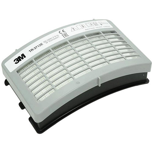3M TR-3712E Particulate P3 Filter Grey for Versaflo Powered Air Purifying Respirator Pack 5