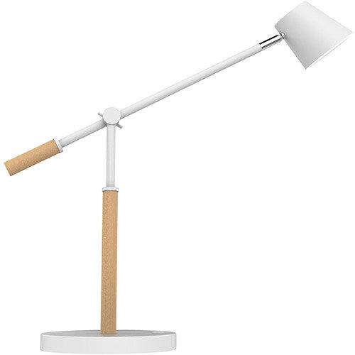 Unilux Vicky LED Desk Lamp 9W White/Beech Ref 400120126