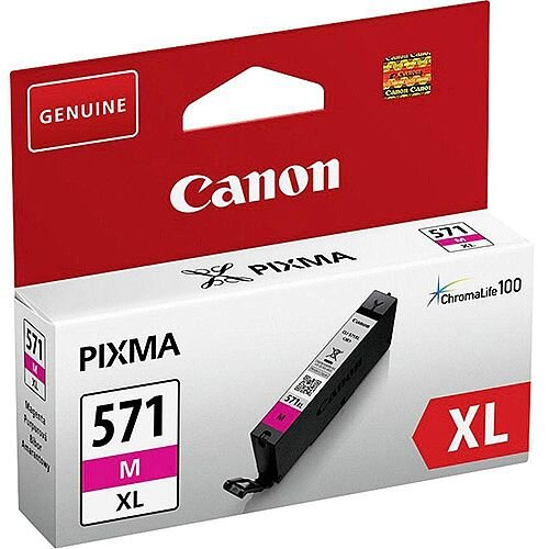 Canon CLI-571XL Ink Cartridge Page Life 645pp Magenta Ref 0333C001