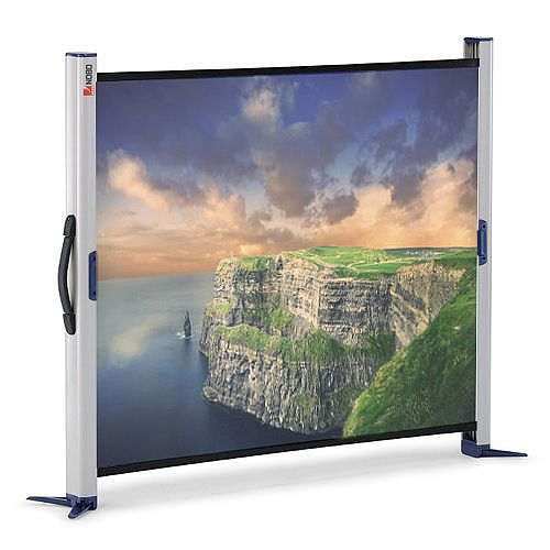 Nobo Portable Projection Screen Desktop 1250mm Diagonal Matt White 1901954